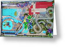 Water Park Greeting Card