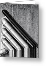 Water Pipes Greeting Card