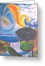 Water Planet Series - Vetor Version Greeting Card
