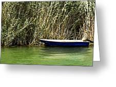 Water Scene Pano Greeting Card