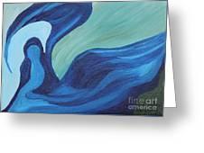 Water Spirit Greeting Card