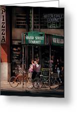 Water St Gourmet Deli  Greeting Card