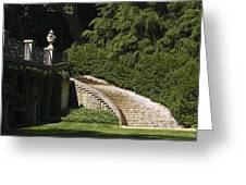Water Staircase Greeting Card