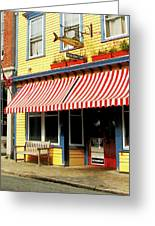 Water Street Cafe Greeting Card