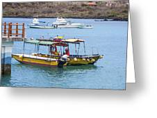 Water Taxis Waiting Greeting Card