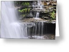Water Terrace Greeting Card