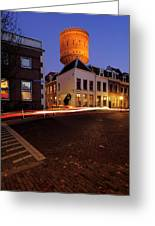 Water Tower Lauwerhof In Utrecht 25 Greeting Card