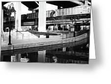 Water Under The Bridges Greeting Card