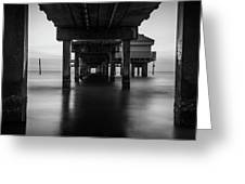 Water Under The Dock Greeting Card