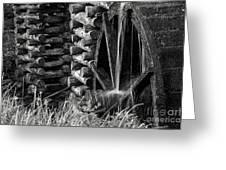 Water Wheel 2 Greeting Card