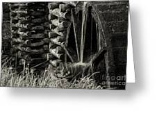Water Wheel 3 Greeting Card