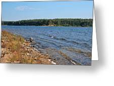 Water Wisp Greeting Card