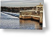 Water Works Gazebo Greeting Card