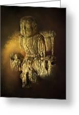 Waterboy As The Buddha Greeting Card