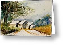 Watercolor 010708 Greeting Card