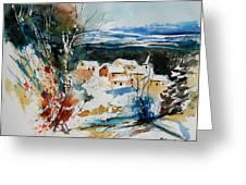 Watercolor  011040 Greeting Card