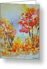 Watercolor 011121 Greeting Card
