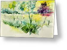 Watercolor 014052 Greeting Card