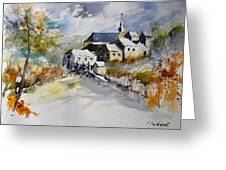 Watercolor 015022 Greeting Card