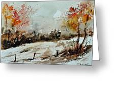 Watercolor 018090 Greeting Card