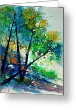 Watercolor 119042 Greeting Card