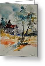 Watercolor 119070 Greeting Card