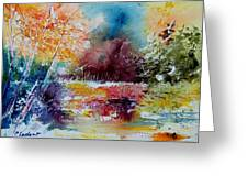 Watercolor 140908 Greeting Card