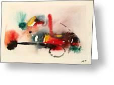 Watercolor 17 Greeting Card