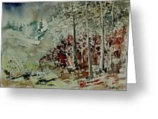Watercolor 200307 Greeting Card