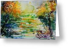 Watercolor  230507 Greeting Card