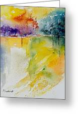 Watercolor  241008 Greeting Card