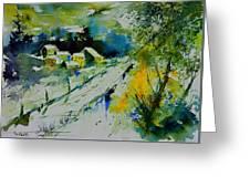 Watercolor 309562 Greeting Card