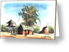 Watercolor 45 Greeting Card