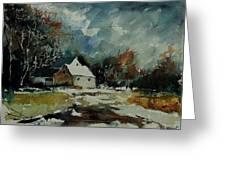 Watercolor  900111 Greeting Card