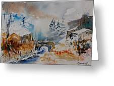 Watercolor  902102 Greeting Card