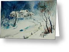 Watercolor 905001 Greeting Card