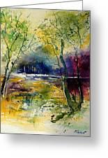 Watercolor  908010 Greeting Card