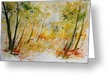 Watercolor  908012 Greeting Card
