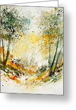 Watercolor  908021 Greeting Card