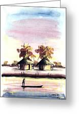 Watercolor 98 Greeting Card