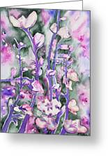 Watercolor - Cherry Blossoms Greeting Card