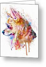 Watercolor Chihuahua  Greeting Card