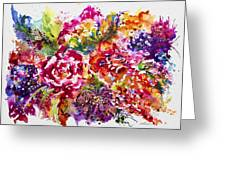 Watercolor Garden IIi Greeting Card