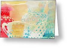 Watercolor Glassware Greeting Card
