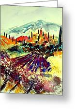 Watercolor  Provence 07 Greeting Card