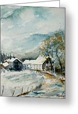 Watercolor Sechery 1207 Greeting Card by Pol Ledent