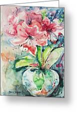 Watercolor Series 139 Greeting Card