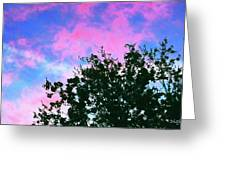 Watercolor Sky Greeting Card