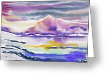 Watercolor - Winter Arctic Impression Greeting Card