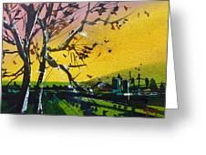 Watercolor_242 Greeting Card